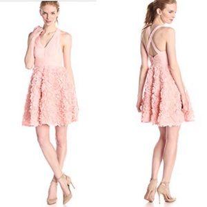 Aidan Mattox Rosette Dress